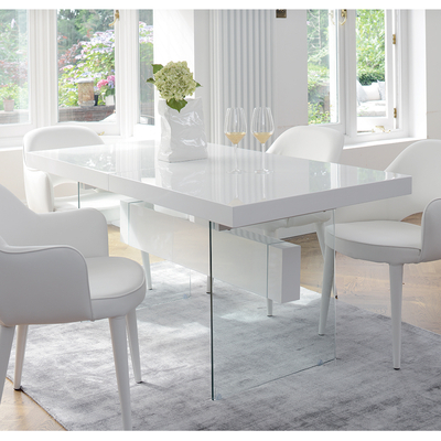 Contemporary Dining Room Furniture From Dwell Throughout Current White Dining Tables (View 5 of 20)