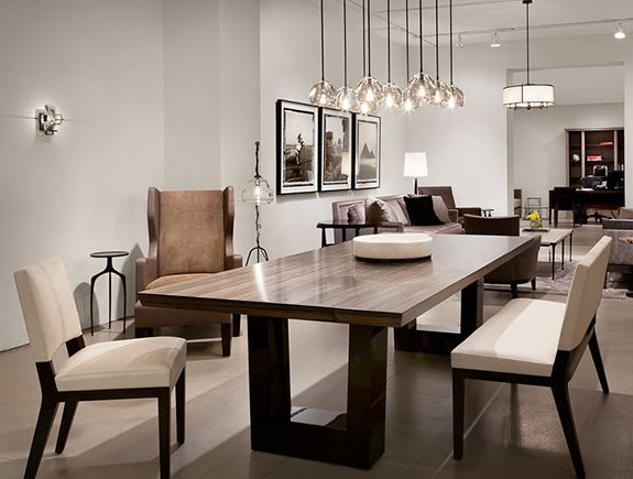 Contemporary Dining Room (View 11 of 20)