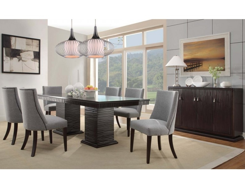 Contemporary Dining Room Tables And Chairs For Current Lusaka Contemporary Dining Room Table (View 7 of 20)