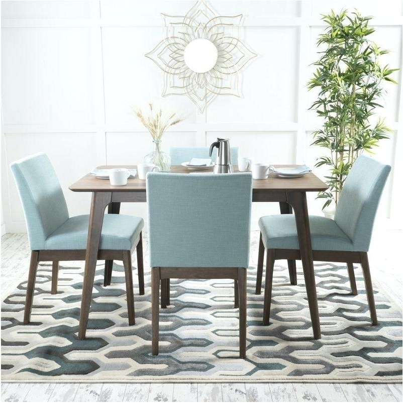 Contemporary Dining Sets Pertaining To Most Popular Contemporary Dining Table Sets – Melhore (View 3 of 20)