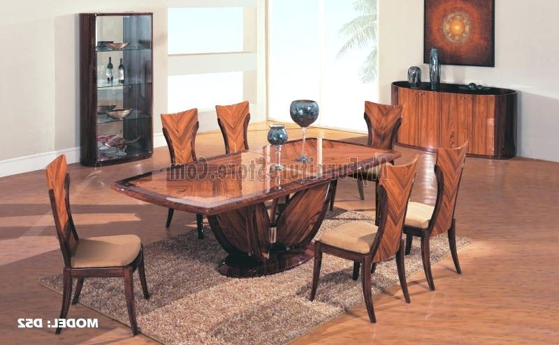 Contemporary Dining Sets Regarding Recent Contemporary Dining Room Table Sets Stylish Modern Dining Table Sets (View 7 of 20)