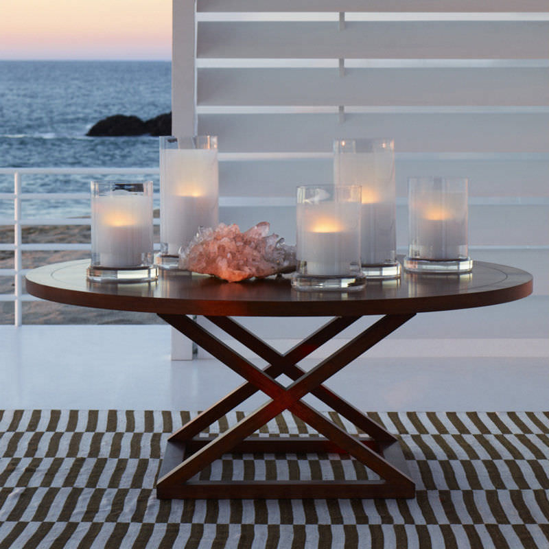 Contemporary Dining Table / Wooden / Round – Jamaica – Ralph Lauren Throughout Most Current Laurent Round Dining Tables (View 6 of 20)