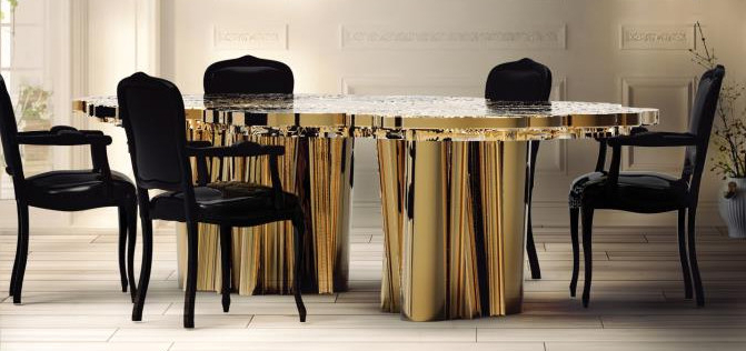 Contemporary Dining Tables In Well Liked Marbella Dining Tables (View 6 of 20)