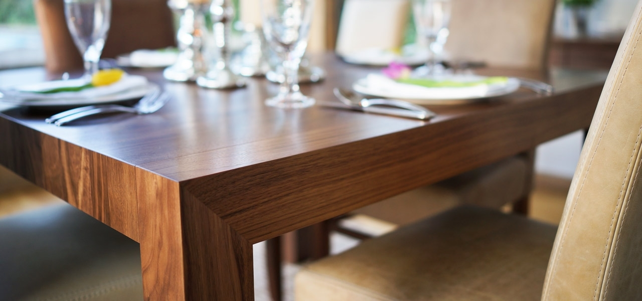 Contemporary Dining Tables Oak & Walnut (View 10 of 20)