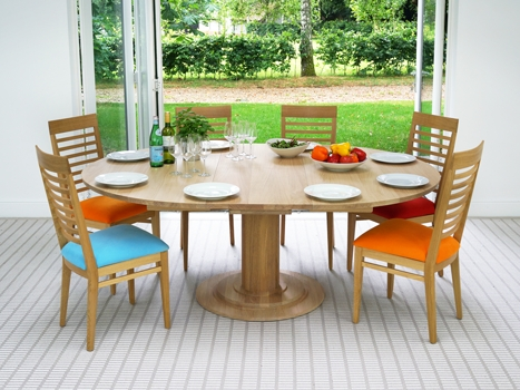 Contemporary Dining Tables Oak & Walnut (View 5 of 20)