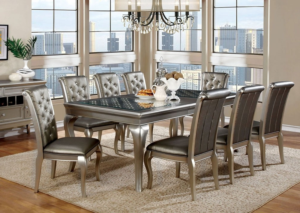 Contemporary Dining Tables Sets Inside Favorite Grey Modern Dining Room Sets — Bluehawkboosters Home Design (View 5 of 20)