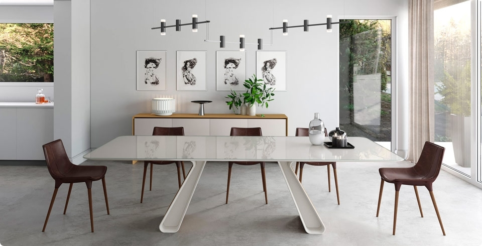 Contemporary Dining Tables Sets Inside Well Known Modern Dining Room Sets For Your Contemporary Home (View 1 of 20)