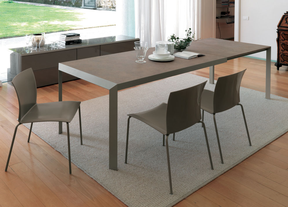 Contemporary Extending Dining Tables Inside Current Extendable Dining Tables (View 10 of 20)