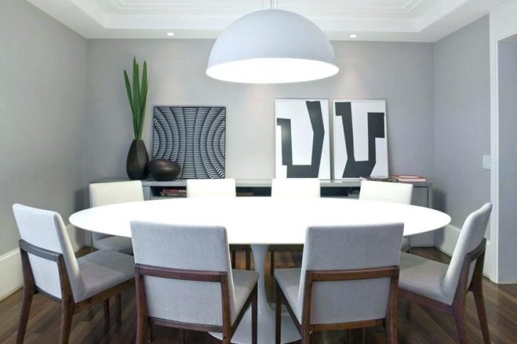 Cool Circular Dining Tables Furniture Round Table And Chairs Ebay With Regard To Well Known Large Circular Dining Tables (Gallery 6 of 20)
