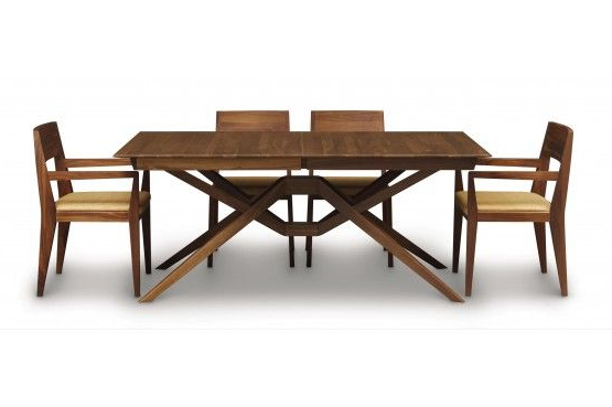 Copeland Furniture : Natural Hardwood Furniture From Vermont With Most Current Teagan Extension Dining Tables (View 4 of 20)