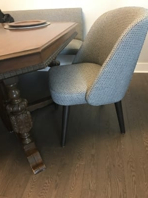 Cora Dining Chair – Modern Dining Chairs – Modern Dining Room Inside Popular Cora Side Chairs (View 3 of 20)