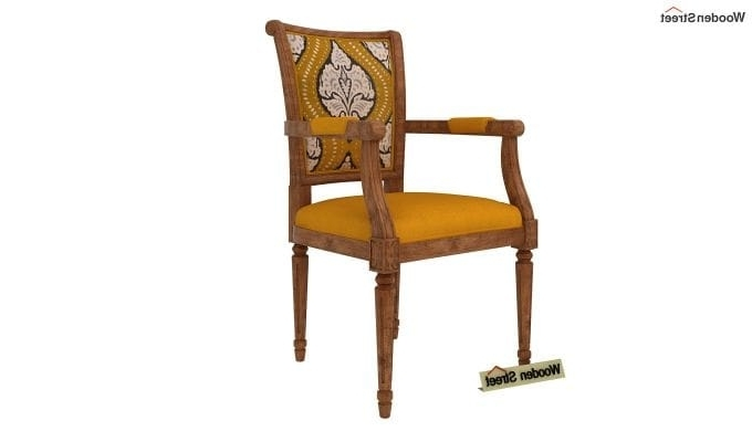 Cora Ii Arm Chairs For Current Buy Orchid Arm Chair (yellow Blush, Mustard Coral) Online In India (View 19 of 20)