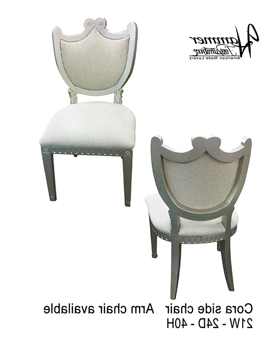 Cora Side Chair – Hammer Fine Furniture In Popular Cora Side Chairs (View 6 of 20)