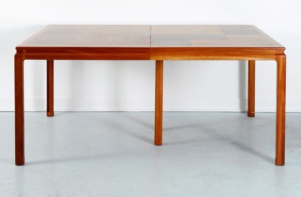 Cork Dining Tableedward Wormley For Dunbar, 1960S For Sale At Pamono Within Widely Used Cork Dining Tables (Gallery 9 of 20)