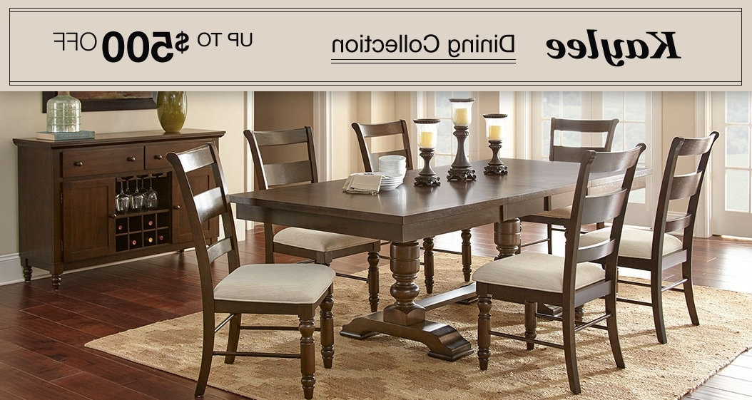 Costco Throughout Chandler 7 Piece Extension Dining Sets With Wood Side Chairs (View 6 of 20)