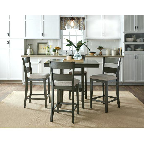 Counter Height Dining Room Table Torjin Counter Height Dining Room Table Pertaining To Favorite Hyland 5 Piece Counter Sets With Bench (View 6 of 20)