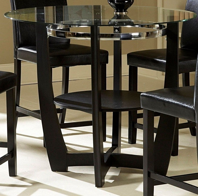 Counter Height Round Dining Table – Foter Regarding Most Up To Date Candice Ii 5 Piece Round Dining Sets (View 16 of 20)