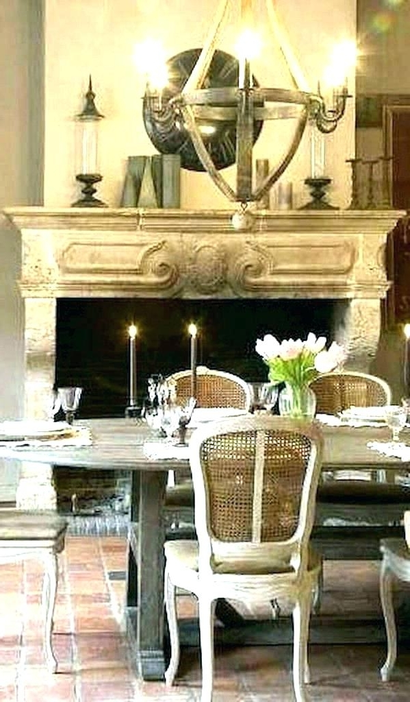 Country Dining Tables Intended For Most Popular Country Dining Room Table French Dining Room Table French Country (View 14 of 20)