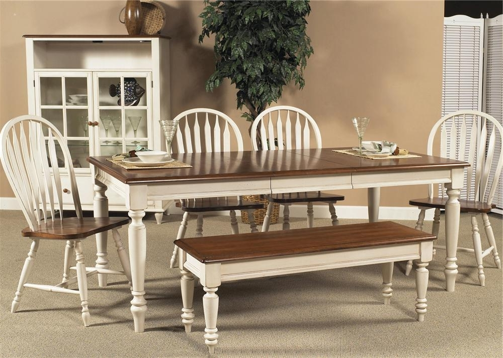 Country Dining Tables Pertaining To Best And Newest Liberty Furniture Low Country Rectangular Dining Table With Turned (View 9 of 20)