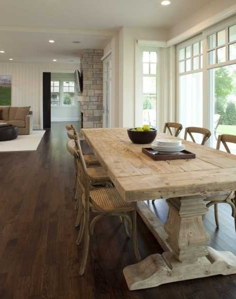 Country Dining Tables Pertaining To Trendy Country Style Dining Table Mesmerizing Country Style Dining Room (View 16 of 20)