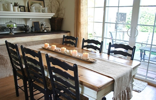 Country Dining Tables With Recent Perfect Ideas Country Style Fascinating Country Style Dining Room (View 10 of 20)