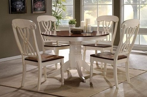 Craftsman 5 Piece Round Dining Sets With Side Chairs Inside Most Recent 12 Amazing Sears Dining Room Sets Under $1000 Worth Your Money (View 4 of 20)