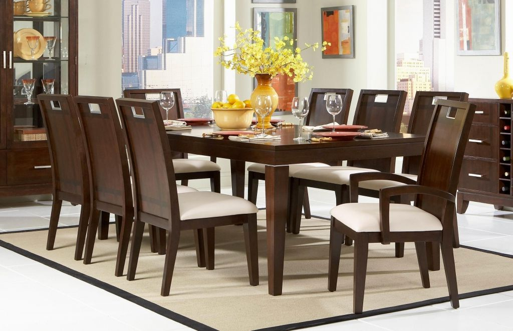 Craftsman 7 Piece Rectangle Extension Dining Sets With Arm & Side Chairs With Regard To Well Known Sears Kitchen Tables Furniture Check More At Http://blogcudinti (Gallery 13 of 20)