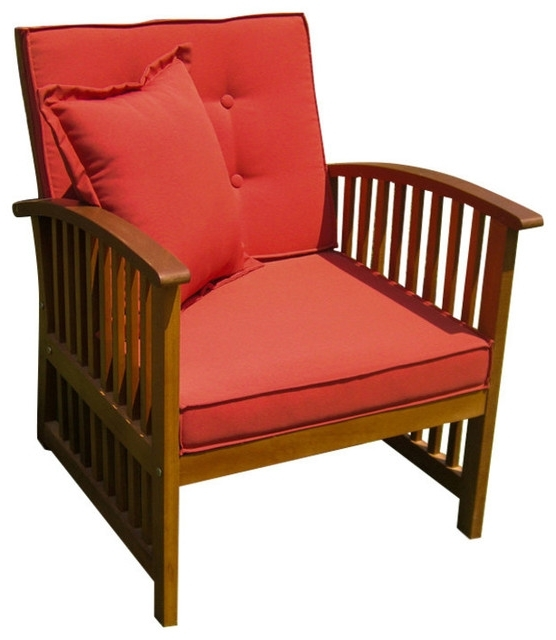 Craftsman Arm Chairs With Regard To Popular Royal Tahiti Set Of Two Phuket Armchair With Cushions – Craftsman (View 17 of 20)