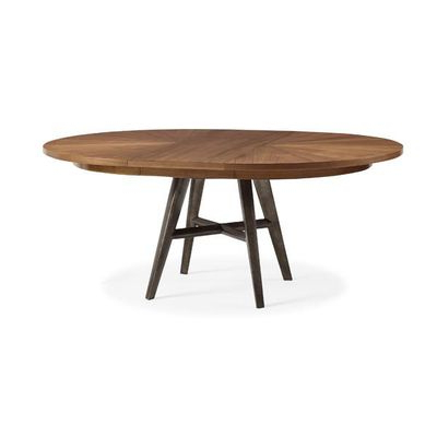 Craftsman Rectangle Extension Dining Tables With Most Up To Date Caracole Modern Craftsman Round Extension Dining Table (View 4 of 20)
