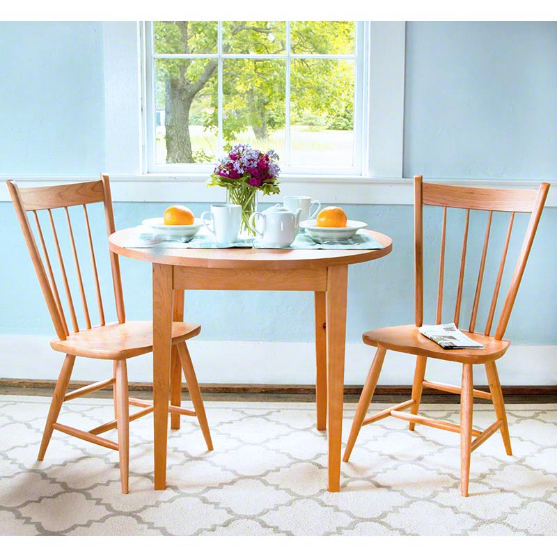 Craftsman Round Dining Tables Within Most Recently Released Classic Shaker Round Dining Table – Vermont Woods Studios (View 10 of 20)