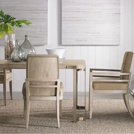 Craftsman Upholstered Side Chairs In Widely Used Artisans餐桌(w204 254* D107* H77 Cm) 、craftsmen Chair 單椅 (View 6 of 20)