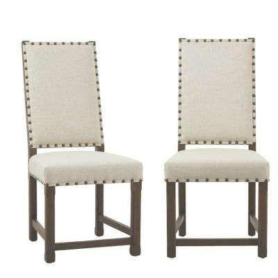 Craftsman Upholstered Side Chairs Inside Latest Dining Chairs – Kitchen & Dining Room Furniture – The Home Depot (View 15 of 20)
