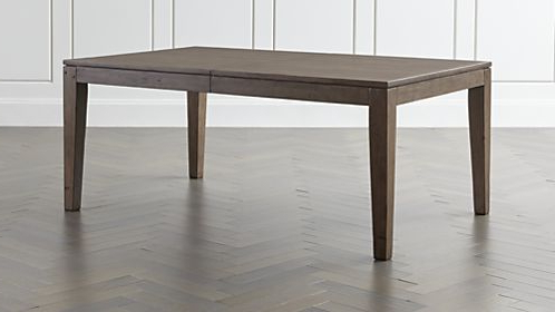 Crate And Barrel In Extending Rectangular Dining Tables (Gallery 13 of 20)