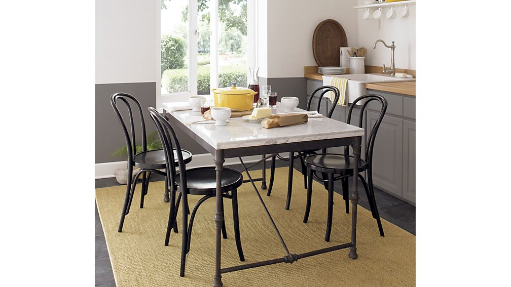 Crate And Barrel Intended For 2017 Vienna Dining Tables (View 19 of 20)