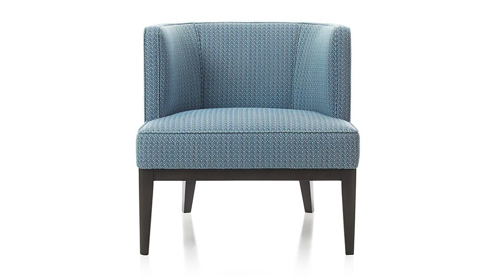 Crate And Barrel Regarding 2017 Attica Arm Chairs (View 9 of 20)
