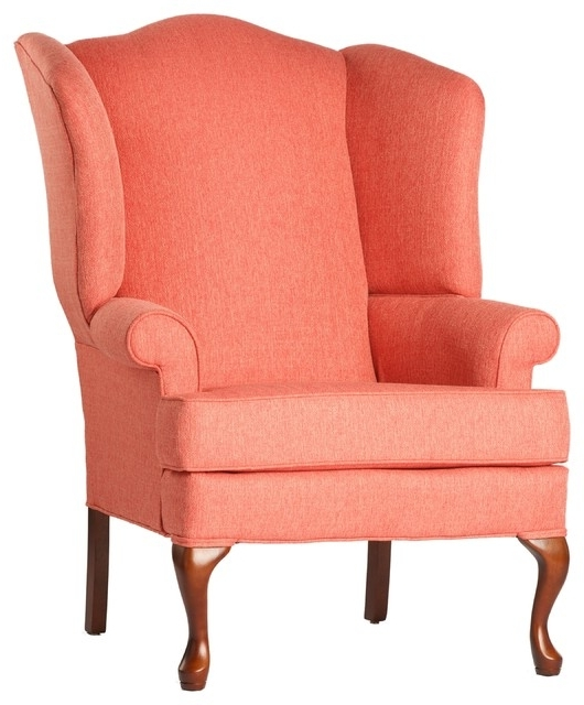 Crawford Wingback Chair – Traditional – Armchairs And Accent Chairs For Current Cora Ii Arm Chairs (View 11 of 20)