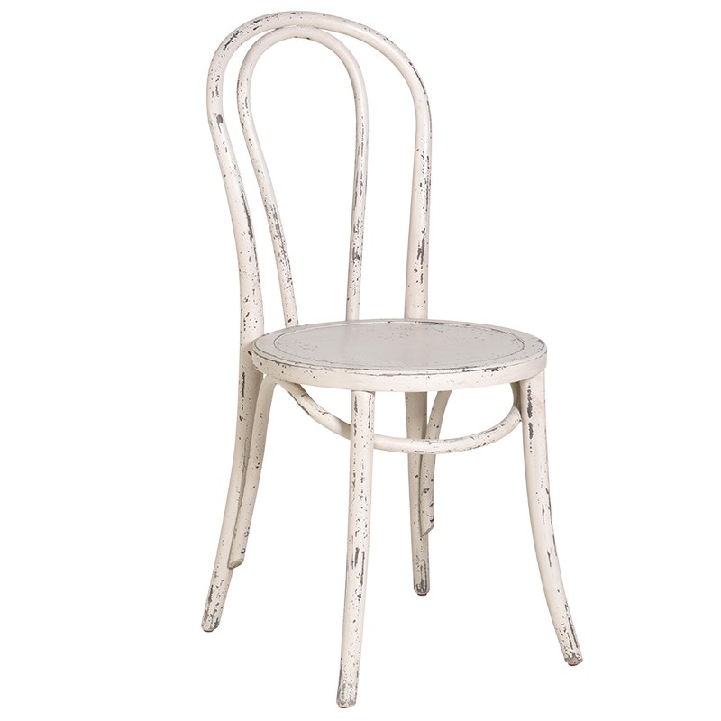Cream Loop Back Shabby Chic Dining Chair – Mulberry Moon For Popular Shabby Chic Dining Chairs (View 5 of 20)