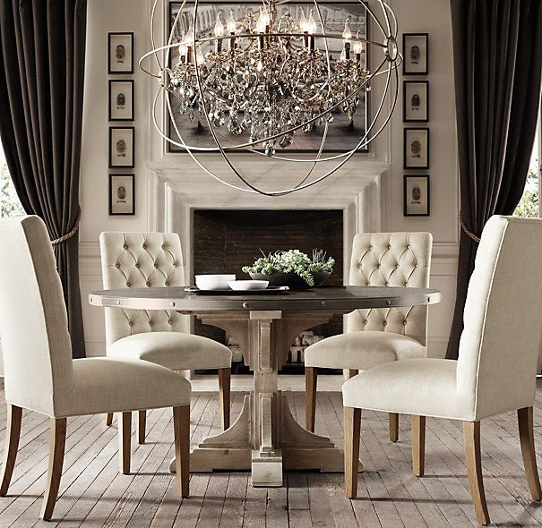 Crystal Dining Room Chandelier Mesmerizing Endearing Chandelier For In Newest Crystal Dining Tables (View 6 of 20)