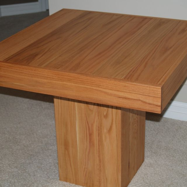 Cube Dining Tables Throughout Most Popular Hand Made Cube Dining Tablecannon Custom Woodworking Llc (Gallery 12 of 20)
