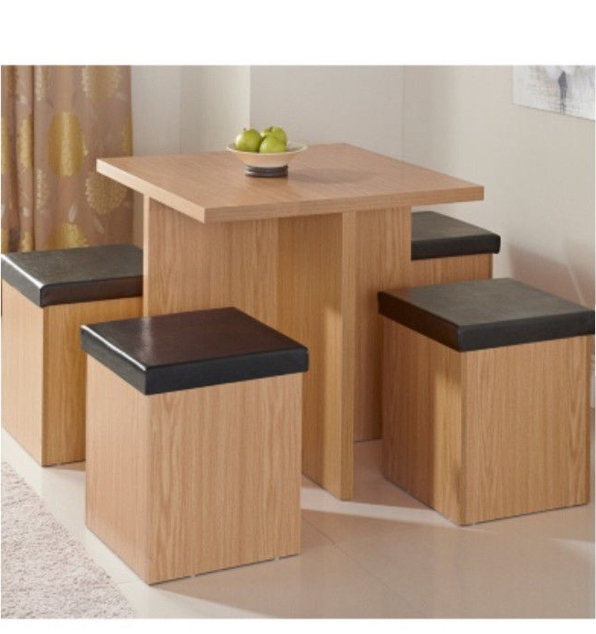 Cube Storage Dining Table (Gallery 5 of 20)