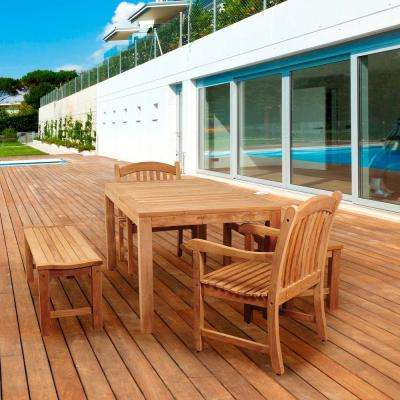 Current 4 5 Person – Dining Chair – Teak – Patio Dining Furniture – Patio Within Outdoor Brasilia Teak High Dining Tables (Gallery 12 of 20)