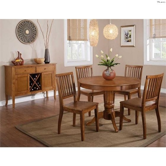 Current 5  Pc Candice Dining Table Set Cd200Tk Bk+Cd450Sksteve Silver For Candice Ii 5 Piece Round Dining Sets With Slat Back Side Chairs (View 6 of 16)