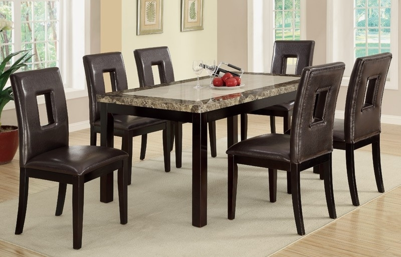 Current 6 Chairs Dining Tables Inside Dining Furniture – 6 Dining Chairs And Table – Home Decor Ideas (View 9 of 20)