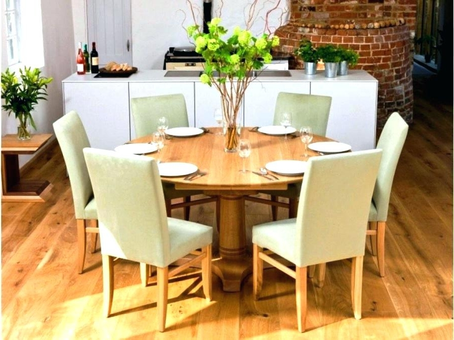 Current 6 Seater Round Dining Table 6 Dining Table Sets 6 Dining Table Sets Within 6 Seat Round Dining Tables (View 6 of 20)