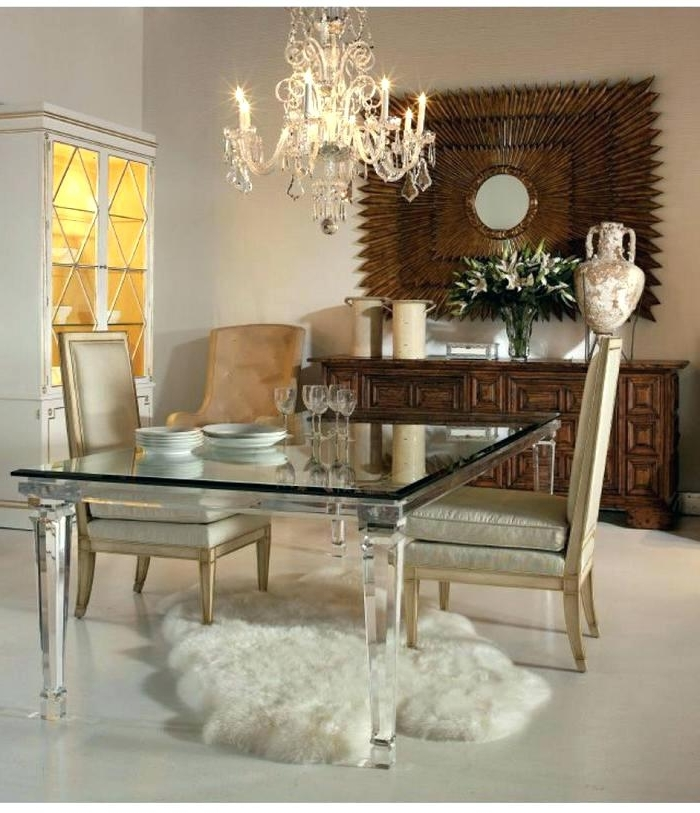 Current Acrylic Dining Tables Inside Acrylic Dining Room Table Acrylic Dining Room Table 2 Acrylic Dining (View 10 of 20)