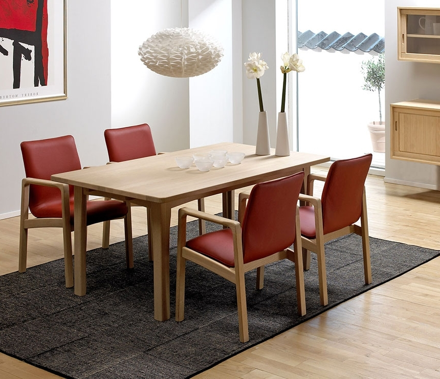 Current Beech Dining Tables And Chairs Within Classic Dining Room Tables – Solid Wood Wharfside Danish Furniture (View 8 of 20)