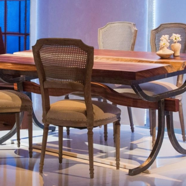 Current Carly Triangle Tables For Carley Ferrara: Iron Mountain Forge & Furniture (View 14 of 20)