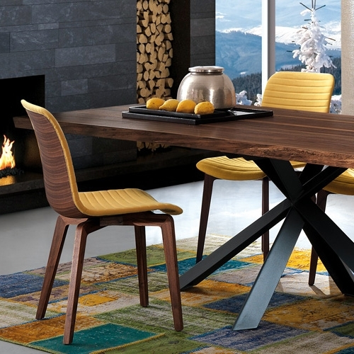 Current Contemporary Furniture From Belvisi Furniture Cambridge Regarding Vela Side Chairs (View 12 of 20)