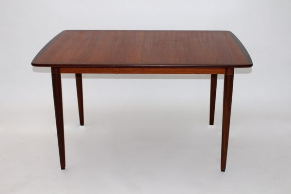 Current Danish Teak, Rosewood, And Ash Rectangular Extending Dining Table Throughout Extending Dining Tables (View 13 of 20)