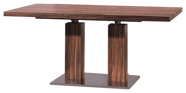 Current Delfina Veneer Dining Table – Modern – Dining Sets  Casaat Regarding Delfina Dining Tables (View 6 of 20)